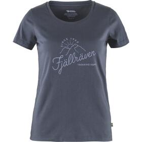 Fjällräven Sunrise T-Shirt Women, azul